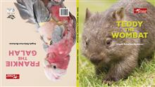 Teddy the Wombat & Frankie the Galah