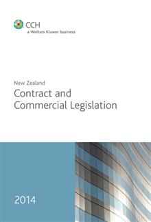 New Zealand Contract and Commercial Legislation 2014