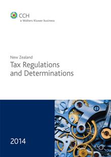 New Zealand Tax Regulations and Determinations 2014